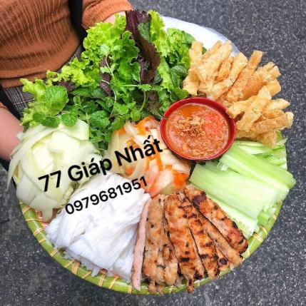 Hoa béo - Nem nướng Nha Trang