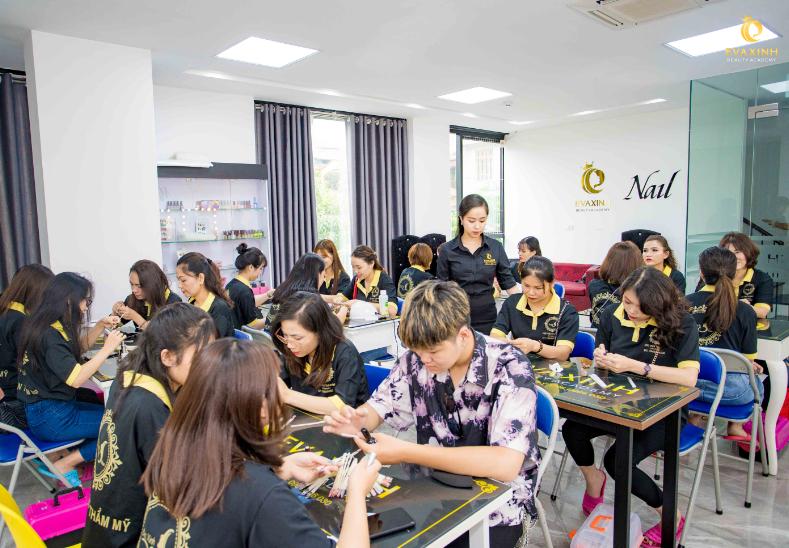 Học viện đào tạo,dạy nghề phun xăm thẩm mỹ quốc tế chuyên nghiệp Eva xinh tại TP.Hồ Chí Minh (Eva xinh beauty academy)