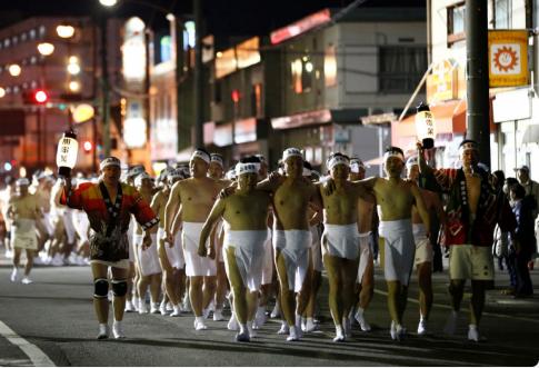 Lễ hội mặc khố ở Nhật Bản