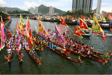 Lễ hội thuyền rồng, Trung Quốc