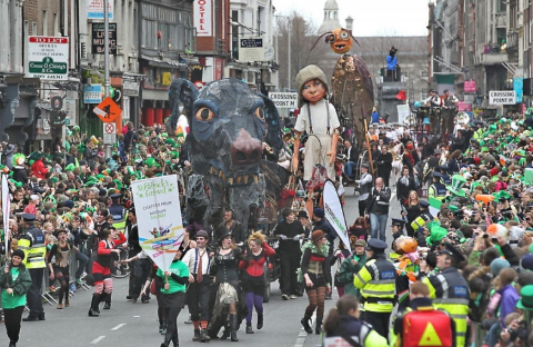 Lễ thánh Patrick, Dublin, Ireland