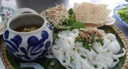 Mì Quảng Ếch - Bếp Trang