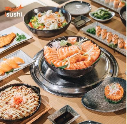 Nhà hàng iSushi Cao Thắng - buffet Nhật