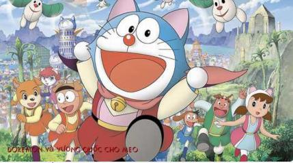 Nobita ở vương quốc chó mèo
