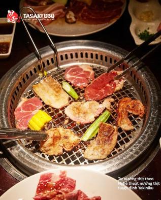 Tasaki BBQ - Nướng than hoa Nhật Bản