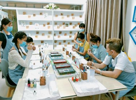 Trung tâm dạy học nail Trang