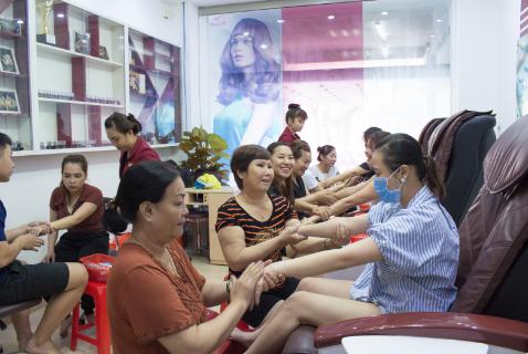 Trung tâm đào tạo nghề chuyên nghiệp - World Nail School