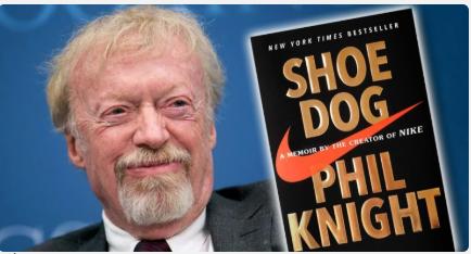 """Cuốn sách """"Shoe Dog"""" - Phil Knight"""